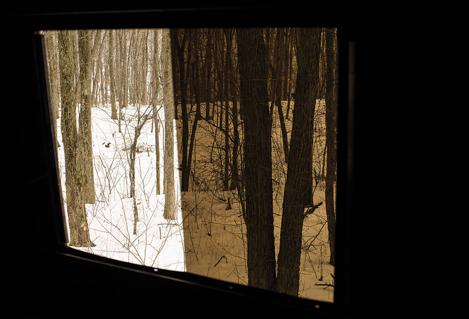 Stealthslider Tinted Windows Oakridge Hunting Blinds