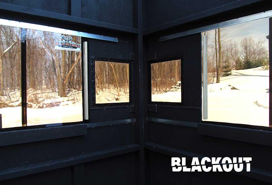 Blackout Soundproofing Oakridge Hunting Blinds